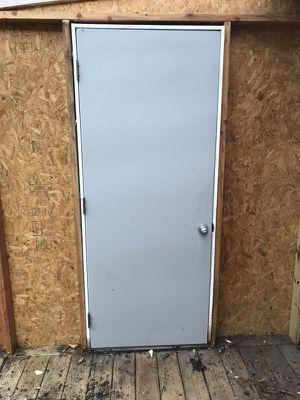 """32x80"""" Masonite Steel Fire Door for Sale in Brick, NJ"""