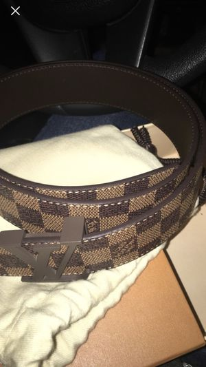 Brown Damier Louis Vuitton Belt 95 cm for Sale in Monroeville, PA