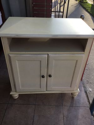Shabby chic cabinet. 100 % pure wood for Sale in Los Angeles, CA