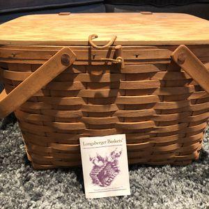 Longaberger Basket for Sale in Issaquah, WA