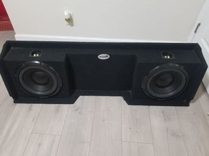 SUBWOOFER BOX for Sale in Sacramento, CA
