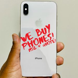 iPhone XS Max 256GB Unlocked *READ DESCRIPTION CAREFULLY BEFORE MESSAGING* for Sale in Waterbury, CT