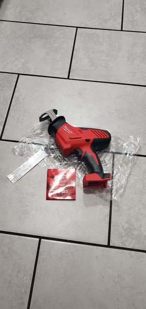 MILWAUKEE M18 VT HACK SAW NEW TOOL ONLY for Sale in Long Beach, CA