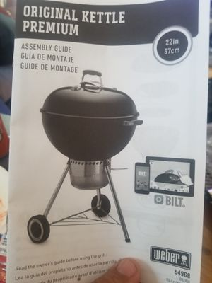 Weber Original Kettle Grill 22 inches for Sale in Inglewood, CA