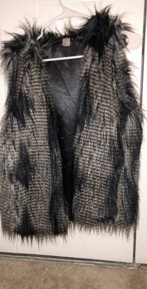 Faux fur vest for Sale in Falls Church, VA