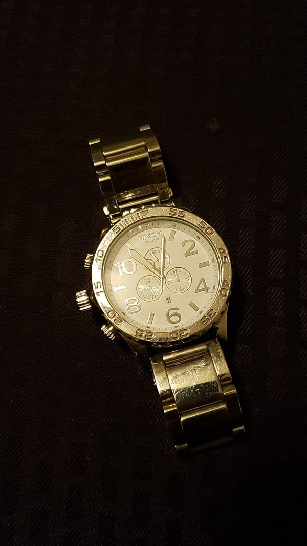 Nixon Silver Watch