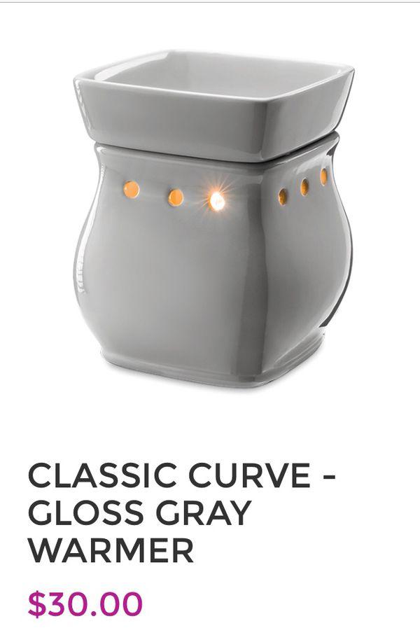 New Scentsy Gray Warmer $30