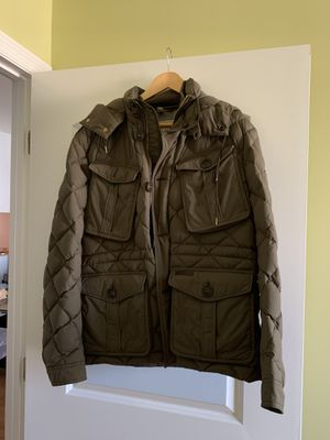 Burberry men's winter coat, size Large for Sale in Brooklyn, NY