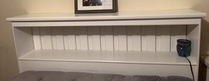 Bookcase bed frame/ mattress and dresser for Sale in Appleton, WI
