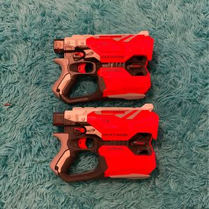 2 Diatron Nerf Guns (Tested And Work Like New). for Sale in Ypsilanti, MI