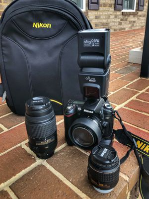 Nikon d90 FULL PACKAGE! Deal you can't beat!! for Sale in Chantilly, VA