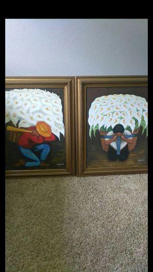 2 beautiful Diego Rivera art for Sale in Stockton, CA