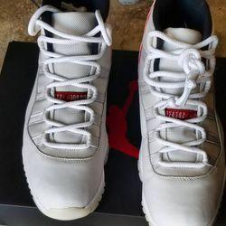"Jordan 11 Retro ""Platinum Tint"" Size 11 No Box for Sale in Sloan,  NV"