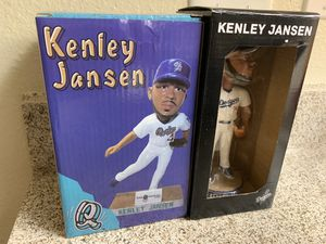 Kenley Jansen Bobbleheads Quakes Dodgers for Sale in Irwindale, CA