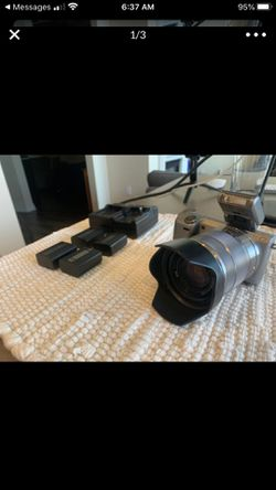 Sony Alpha nex-5r camera for Sale in Commerce City,  CO