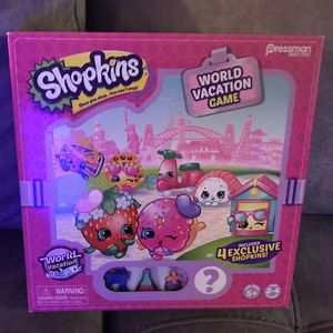 Shopkins World Vacation Board Game for Sale in Vallejo, CA