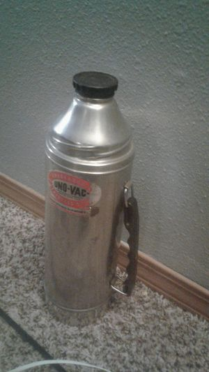 Vintage Uno-VAC stainless steel thermos for Sale in Spanaway, WA