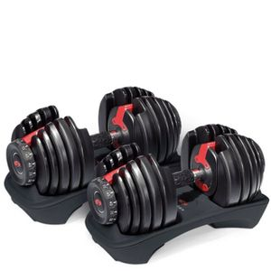 Bowflex SelectTech 552 Adjustable Dumbbell (Pair) for Sale in San Francisco, CA