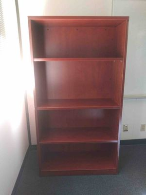 """Bookcase 66""""/36""""/15"""" cherry wood for Sale in San Jose, CA"""