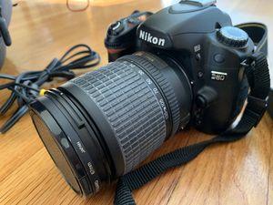 Nikon D80 digital SLR camera with case for Sale in Santa Monica, CA