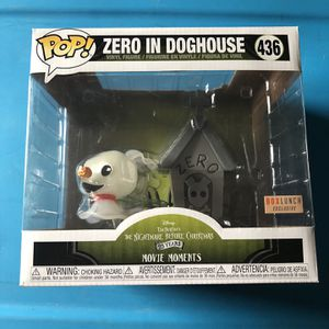 Funko pop. Zero in doghouse nightmare before Christmas Disney 25 years movie moments BoxLunch exclusive 436. Sorry I do not ship. Or trade. Everett/B for Sale in Everett, WA