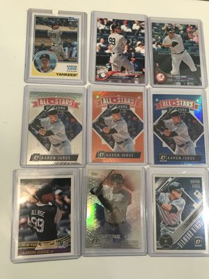 Baseball Card, Aaron Judge lot for Sale in Bingham Canyon, UT