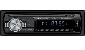 New Soundstream Car CD MP3 Player USB AUX SD Card Inputs Single DIN Stereo Receiver with Built-in Bluetooth Hands-Free Calling Music Streaming AM for Sale in Gardena, CA