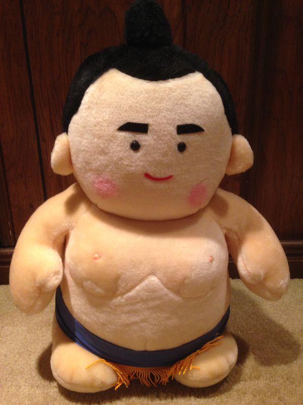 SUMO Wrestler Plush Toy