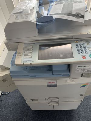Ricoh Aficio Multifunction Printer Color Copier for Sale in Hyattsville, MD