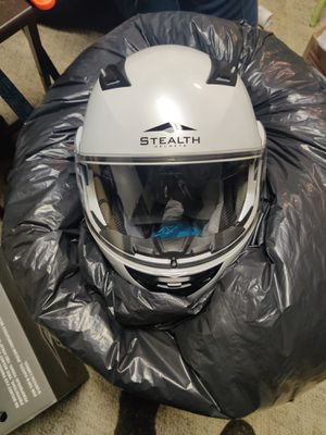 Stealth Motorcycle Helmets Size Medium and XXL for Sale in Brooklyn, OH