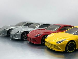 Hot Wheels lot of 4 Ferrari F12 Berlinetta NWP as pictured for Sale in Perris, CA