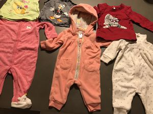 Baby clothes for 3m 6m girl never worn for Sale in Las Vegas, NV