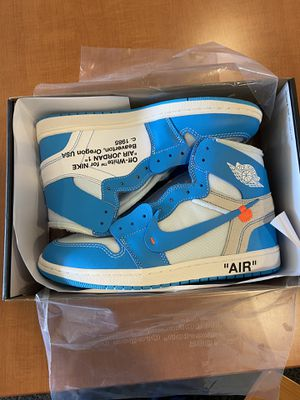 Off white Jordan 1 UNC size 11 for Sale in Washington, DC
