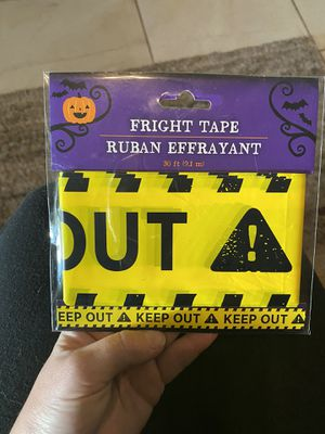Halloween caution tape for Sale in Clearwater, FL