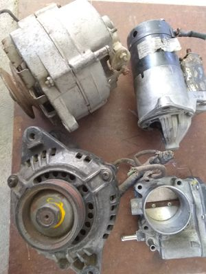 $15 firm for two alternators, one starter and one throttle body for Sale in San Diego, CA
