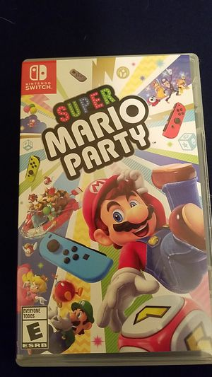 Super Mario party for switch obo for Sale in Calimesa, CA
