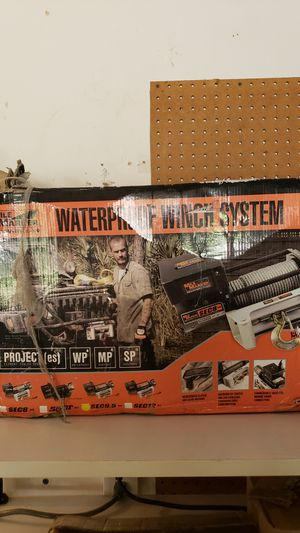 Mile Marker waterproof winch system with off road recovery kit for Sale in Flower Mound, TX