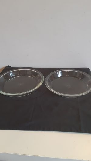 """9"""" & 9.5"""" Pyrex clear glass pie dishes $2 EACH for Sale in Plantation, FL"""