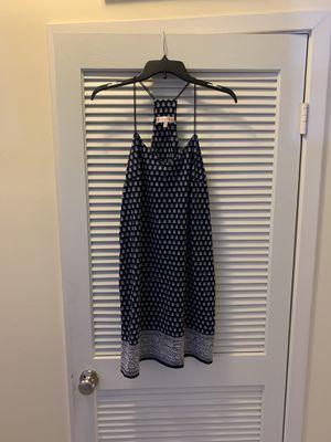 Jude Connally Bailey Dress Floral Foulard Navy for Sale in Alexandria, VA