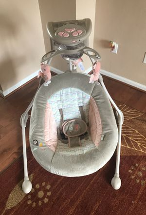 Ingenuity InLighten Cradling Swing for Sale in Suffolk, VA