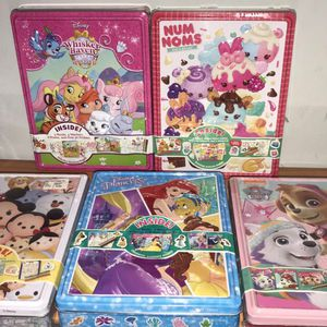 Disney Coloring Tin Activity Box for Sale in Chicago, IL
