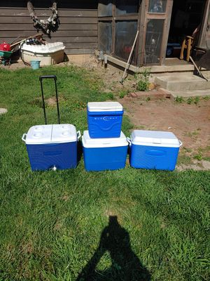 Various ice chest coolers for Sale in Delaware, OH