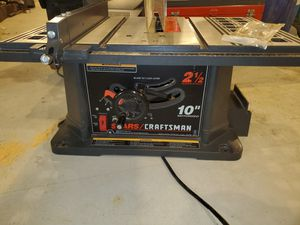 Sears Craftsman 10 inch Portable Table Saw for Sale in Canonsburg, PA