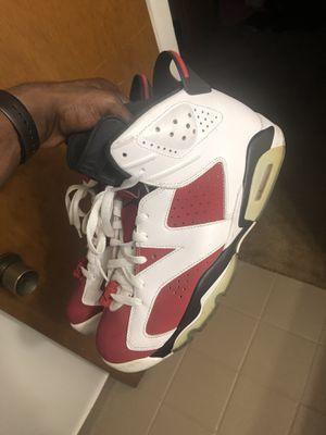 Retro Jordan 6 / Carmine for Sale in Haines City, FL