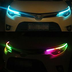 RGB Slim Sequential Flexible LED DRL Turn Signal Strip Remote For Headlights and Universal Use for Sale in Fullerton,  CA