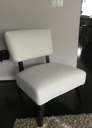 White Accent Chairs (2) for Sale in Gainesville, VA