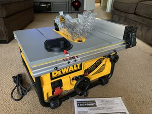 """DeWALT 10"""" Portable Compact TABLE SAW DWE7480 for Sale in Pomona, CA"""
