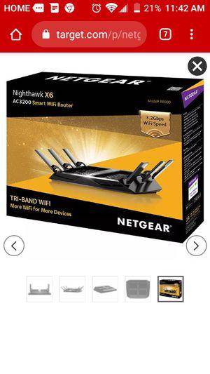 Netgear router for Sale in Grand Terrace, CA