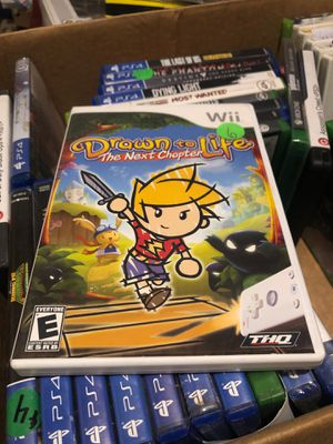 Drawn to Life: The Next Chapter by THQ for the Nintendo Wii for Sale in Las Vegas, NV