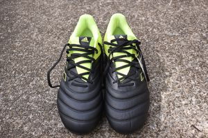 NEW SIZE 11 And 11.5 Adidas Copa 19.3 FG Soccer Cleats Black & Yellow for Sale in Medina, OH